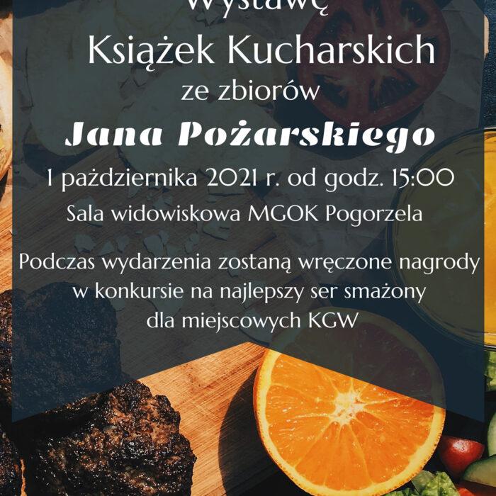 Wystawa Książek Kucharskich ze zbiorów Jana Pożarskiego
